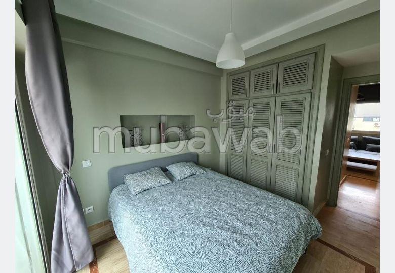 Location d'un appartement à Casablanca. Surface totale 50 m². Bien meublé