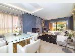 Appartement RDJ bien meublé avec terrasse privée à Prestigia