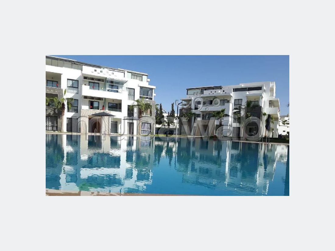 Great apartment for rent in Founti. Dimension 85 m². Fully furnished.