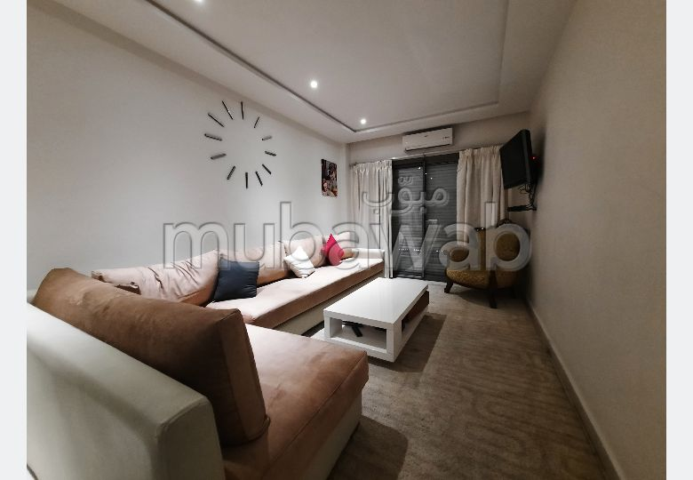 Great apartment for rent in Les Hôpitaux. 2 large living areas. Attic.