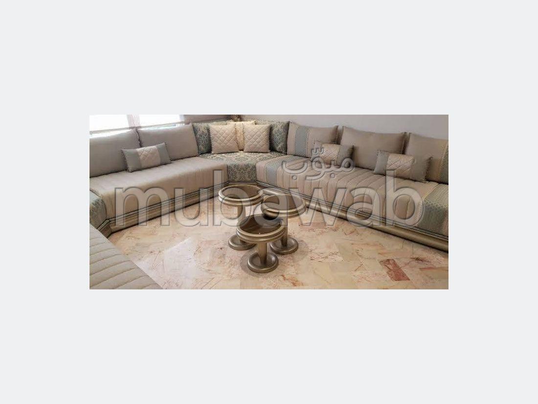 Maravillosa casa en venta en Route de l'Ourika. Pequeña superficie 140 m². Chimenea y aire condicionado.