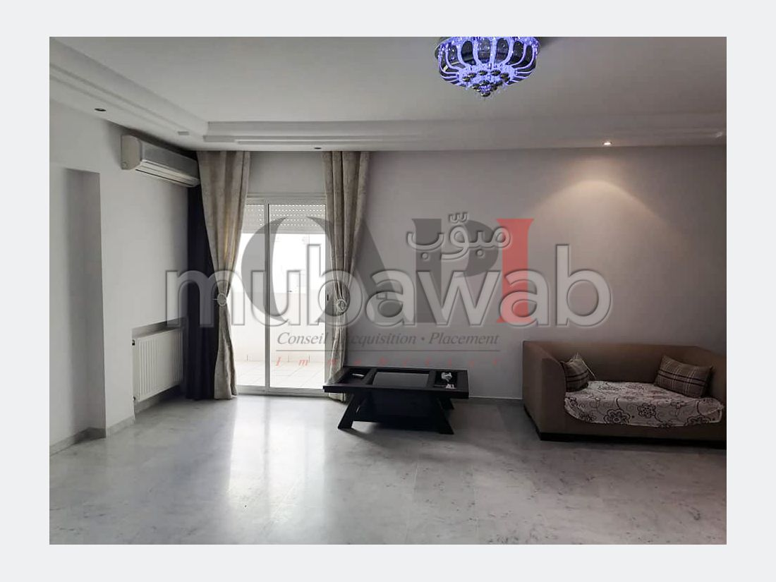 Apartment to purchase in Les Jardins d'El Menzah 2. Large area 143 m². With Lift, Carpark.