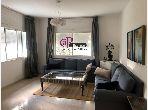 Appartement à louer à Tanger. Surface totale 80 m². Bien meublé