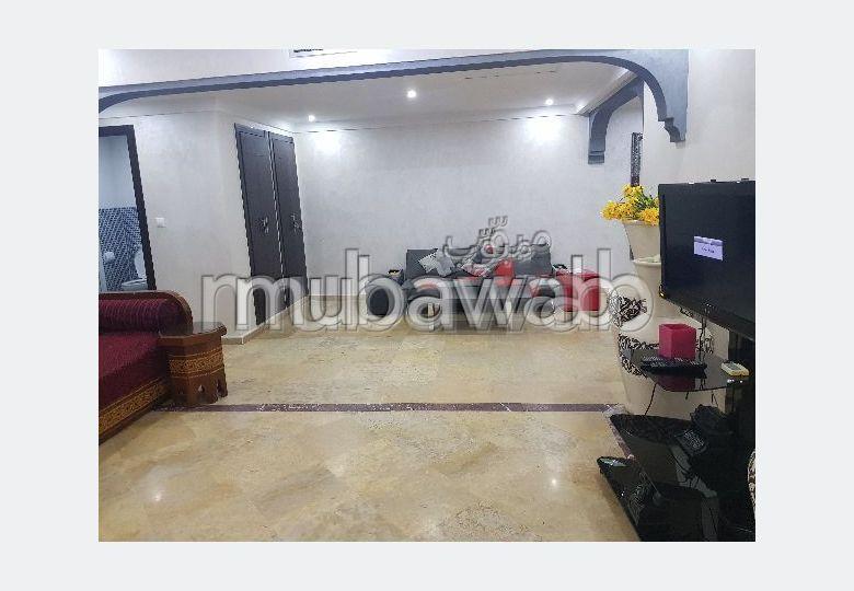 Location d'un appartement à Marrakech. 2 belles chambres. Meublé