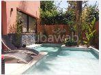 Casa de alto standing en venta en Hay Targa. 6 Sala de estar. Jardín y terraza.