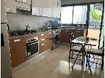 Grand appartement meublé avec style européen