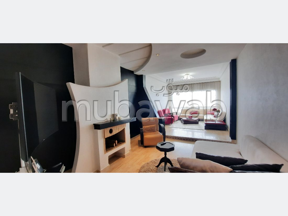 A louer, Appartement Meublé 116m2 A Ghandi