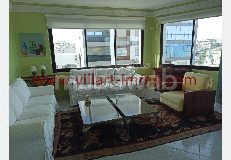 شقة جميلة للكراء بوسط المدينة. المساحة الكلية 173 م².