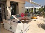 Appartement Penthouse à louer à Souissi Orangeraie