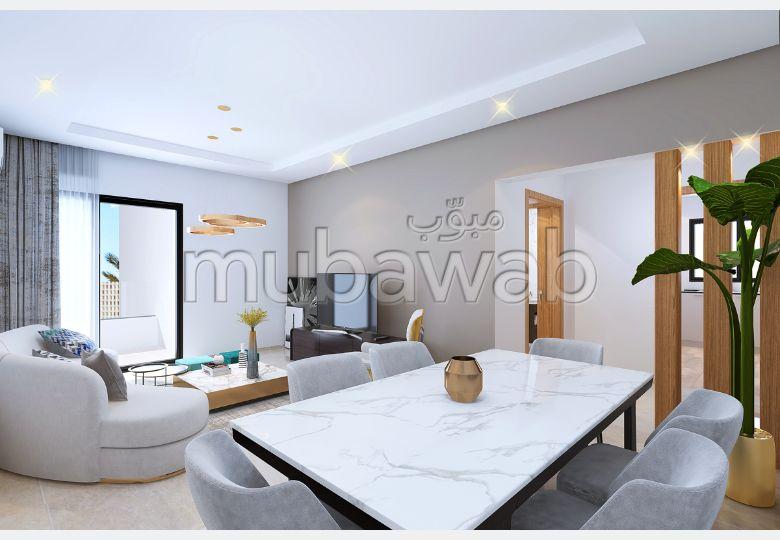 شقة رائعة للبيع ب عين زغوان الشمالية. 1 غرفة. صحن هوائي والأمن والحراسة.
