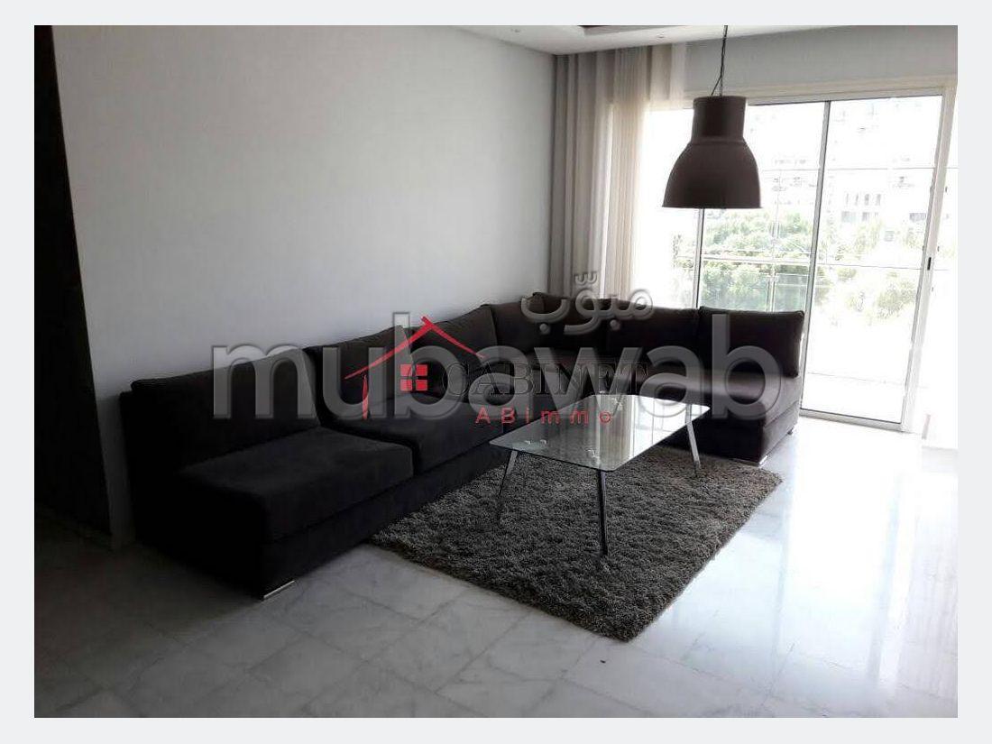 Superbe appartement meublé en location à Hay Riad