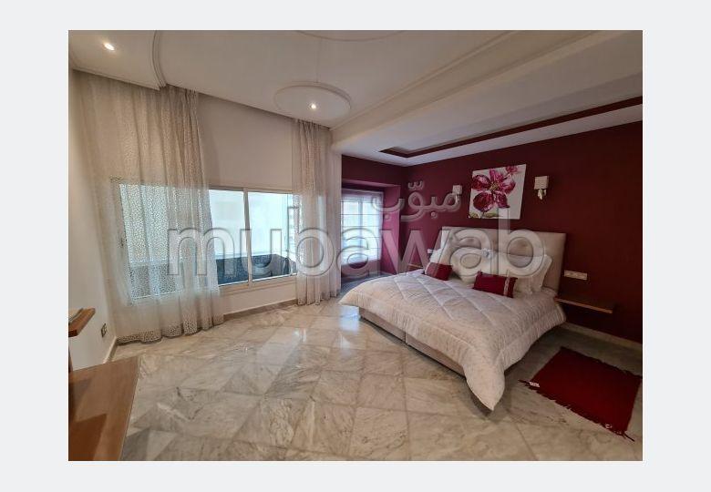 Location appartement meublé avec piscine, terrasse, patio verdoyant centre ville IBERIA