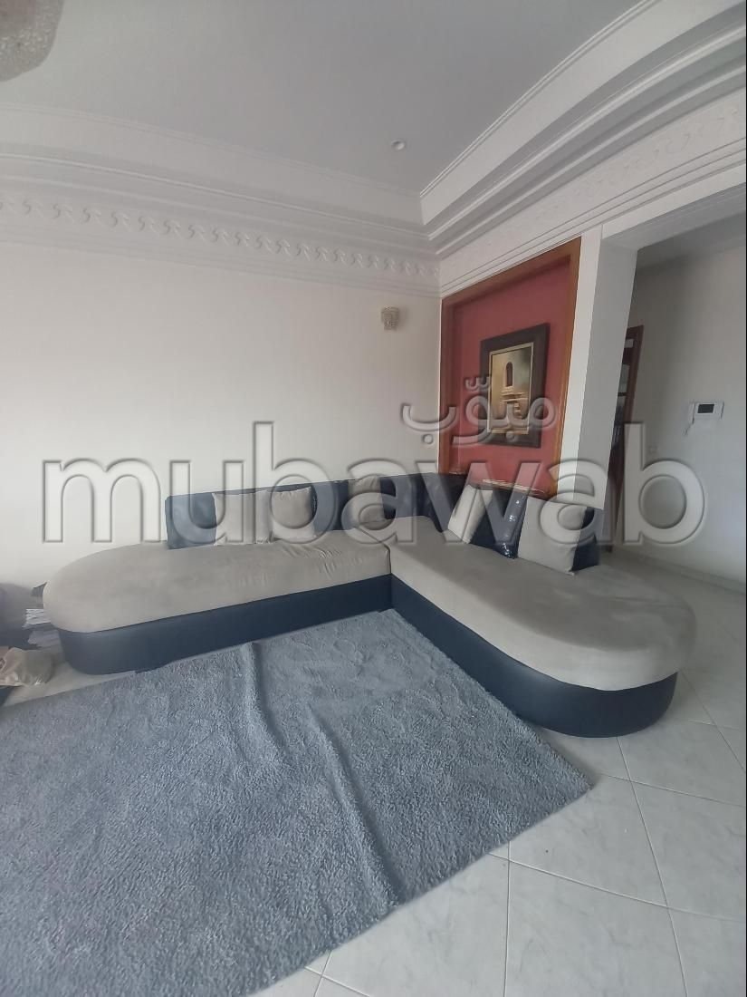 Find an apartment to buy in Route Immouzer. 6 Toilet. Traditional Moroccan living room, secured residence.