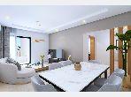 شقة للبيع ب عين زغوان الشمالية. 2 غرف رائعة. زجاج مزدوج وباب قوي.