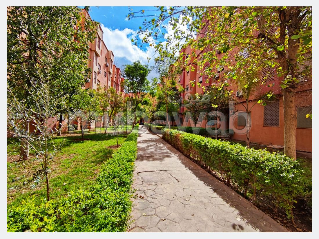 Apartment for rent in Route de Safi. 3 large rooms. Furnishings.