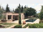 Charmante villa à la location longue durée km 28