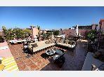 Magnifique appartement toit terrasse gueliz marrakech