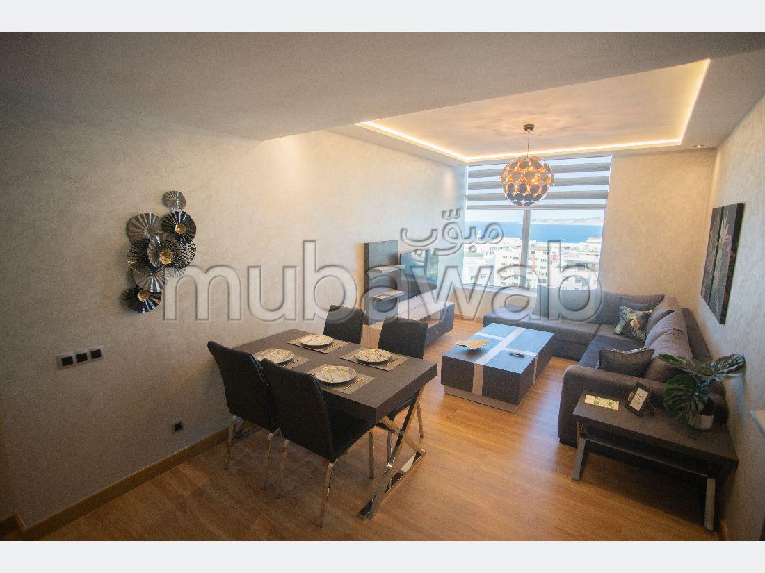 شقة رائعة للإيجار بوسط المدينة. المساحة الإجمالية 89 م². مفروشة.