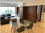 شقة رائعة للايجار ب الحي المالي للدار البيضاء. 1 غرفة. مفروشة.