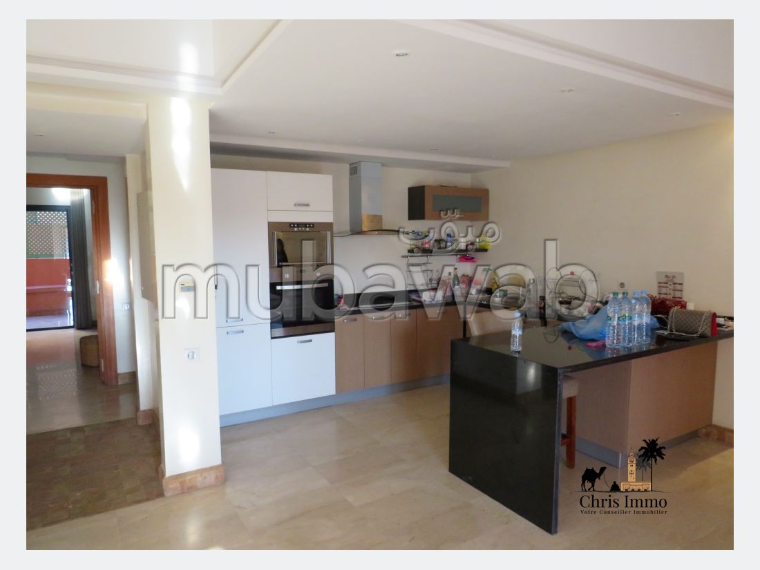 Apartment for rent in Hivernage. Area 189 m². New furniture.