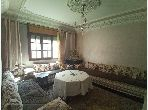 Apartment for sale in Frougui. Large area 60 m². Furnished Moroccan living room.