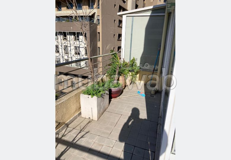 Great apartment for rent in Gauthier. Large area 65 m². Double glazed window, Central air conditioning.