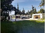 Magnificent villa for sale in Jbel Kbir. 4 beautiful rooms. Living room with fireplace, General air conditioning System.