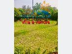 فيلا ممتازة للبيع ب أنفا العليا. المساحة 1900 م². حديقة وشرفة.