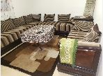 شقة رائعة للايجار ب الوفاق. المساحة الكلية 54 م². مفروشة.
