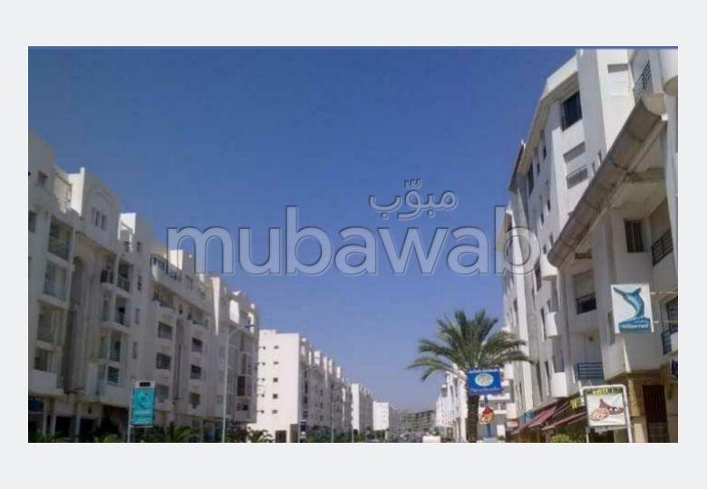 Location appart rénové à Agadir. 3 chambre salon ds résidence sécurisée