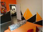 Appartement meublé 80m par jour