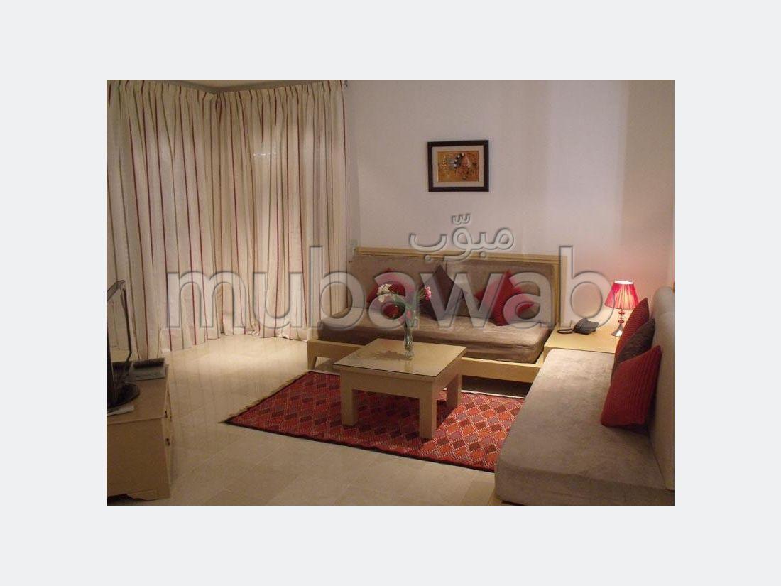 Studio de haut standing à Casablanca meublé