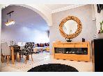 شقة رائعة للبيع ببوركون الشرقي. 3 غرف. صحن هوائي والأمن والحراسة.