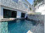 Splendid villa for sale in Ain Diab. 4 beautiful rooms. Property with swimming pool, Integrated air conditioning.