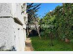 House to buy in Ain Diab. 9 large living areas. Green areas, Balcony.