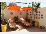 Lovely apartment for rent in Guéliz. 2 Small room. New furniture.