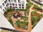 Lovely apartment for rent in Casablanca Finance City. Total area 90 m². No Lift, Large terrace.