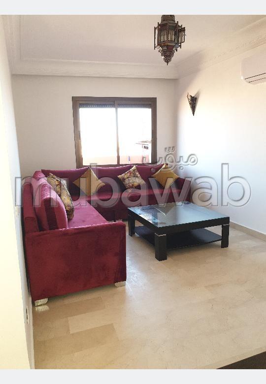 Se alquila este piso en Guéliz. 2 dormitorios. Completamente amueblado.