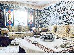شقة رائعة للبيع ب شون كورس. 3 غرف ممتازة. صالون مغربي تقليدي ، إقامة آمنة.