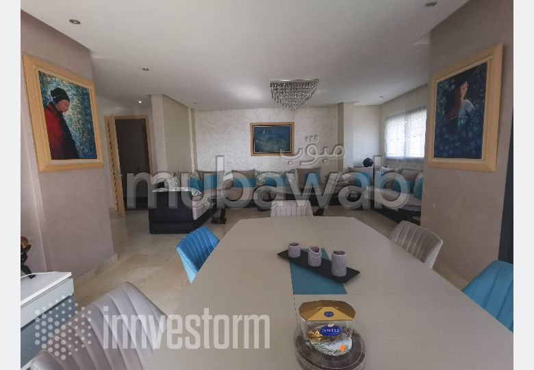 Location appartement meublé 4 pièces Hay Riad
