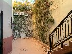 Flat for rent in Hay Targa. 2 Hall. Traditional Moroccan living room, secured residence.