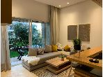 Lovely apartment for rent in Casablanca Finance City. 2 Practice. Well furnished.