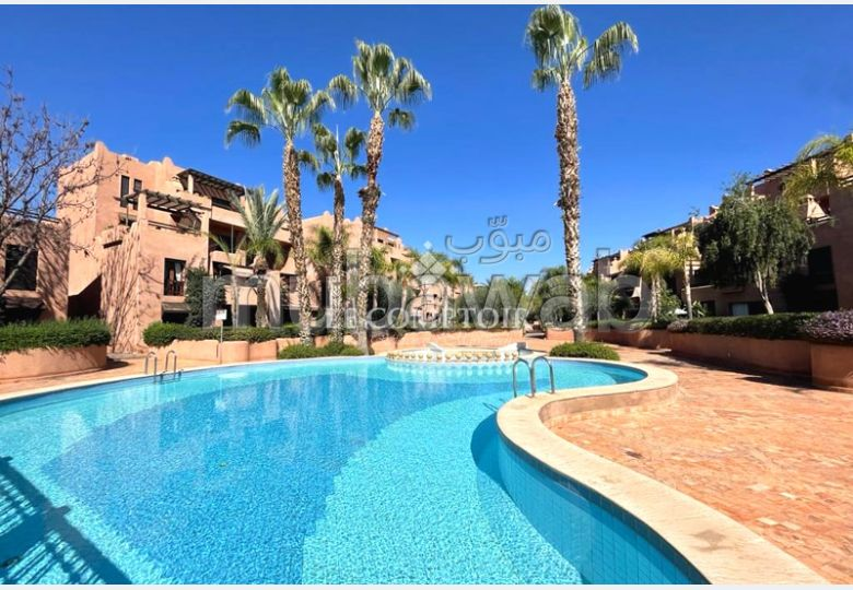 Great apartment for rent in Agdal. 1 lovely room. Residence with swimming pool, Air conditioning.