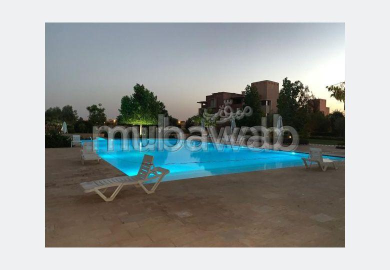 Appartement 3 chambres rez de jardin à l'achat à Marrakech Prestigia