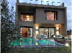 Sublime villa meublée contemporaine a louer