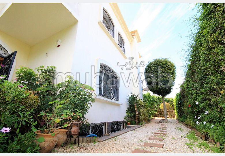 Ain diab, villa 4 chambres avec piscine vue mer