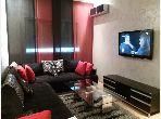 Location d'un appartement à Casablanca. 4 grandes pièces. Meublé