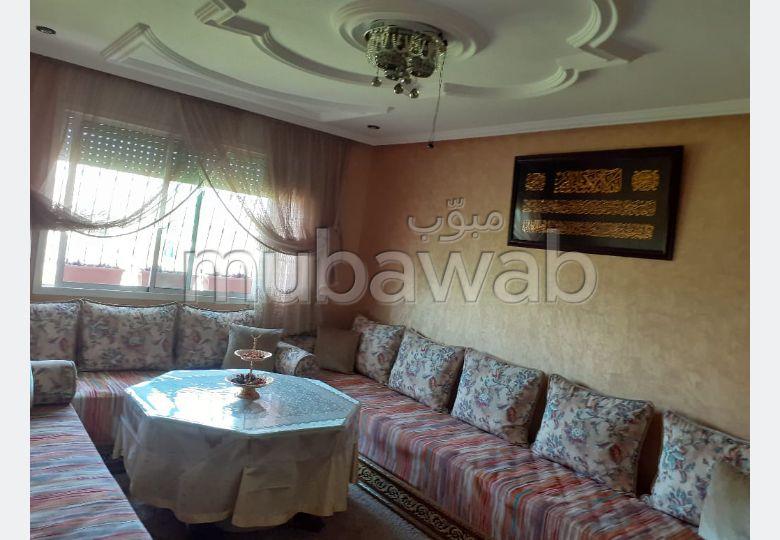 شقة رائعة للبيع ب بوخالف. المساحة 60 م². حديقة.