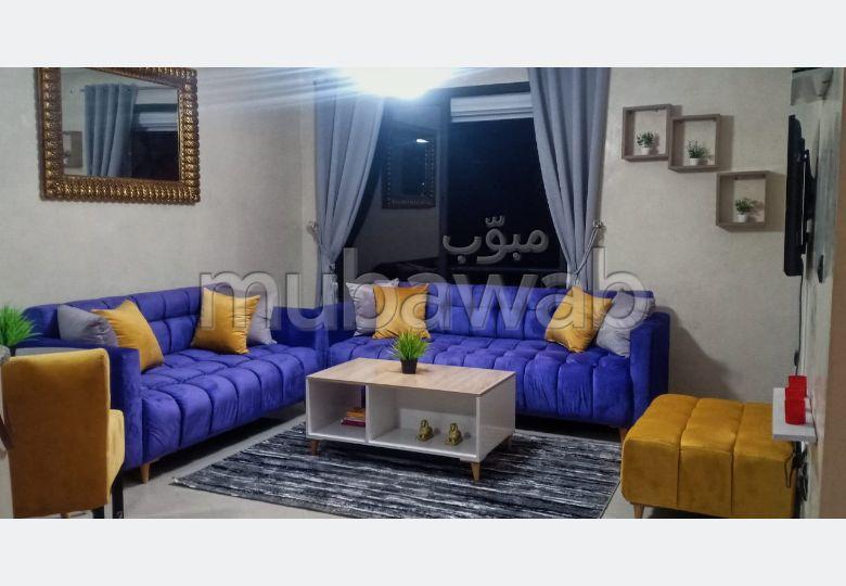 شقة رائعة للايجار بمراكش. المساحة الإجمالية 55 م². مفروشة