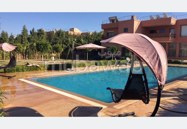 Location d'un appartement à Marrakech. 4 pièces. Meublé